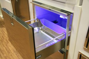 Indel-Webasto Isotherm Refrigerator w/two sliding draws