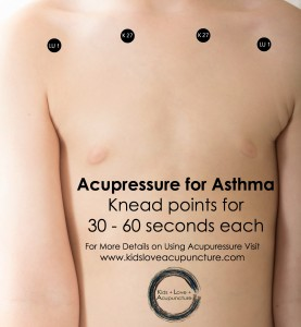 Acupressure for Asthma - more details