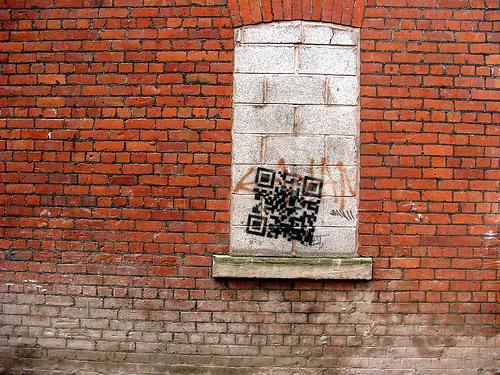 QRcod.brickwall