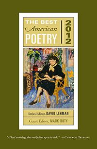 Best American Poetry 2012