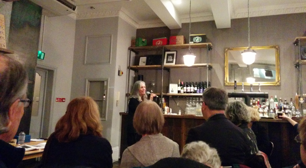 Lynne Hjelmgaard book launch for A Boat Called Annalise