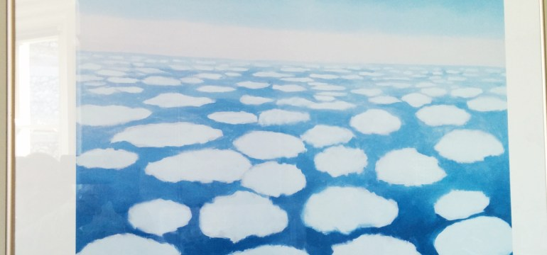 Sky above Clouds by Georgia O'Keeffe