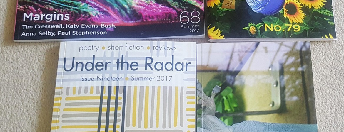 poetry mags received august 17