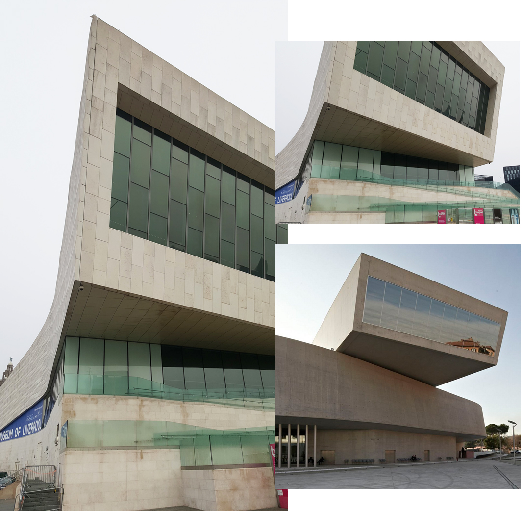 Museum of Liverpool and Maxxi Rome