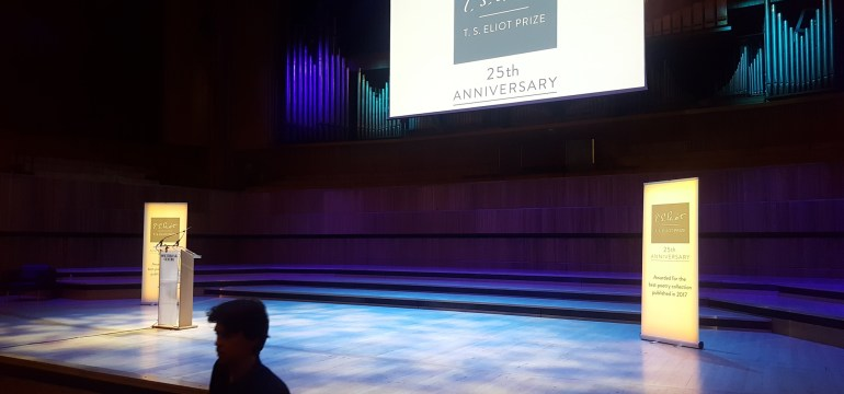 TS Eliot Prize readings 2018 - Royal Festival Hall