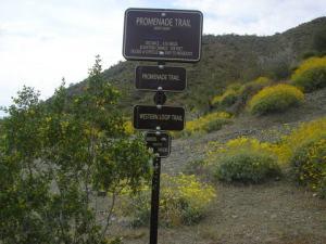 Promenade Trail sign