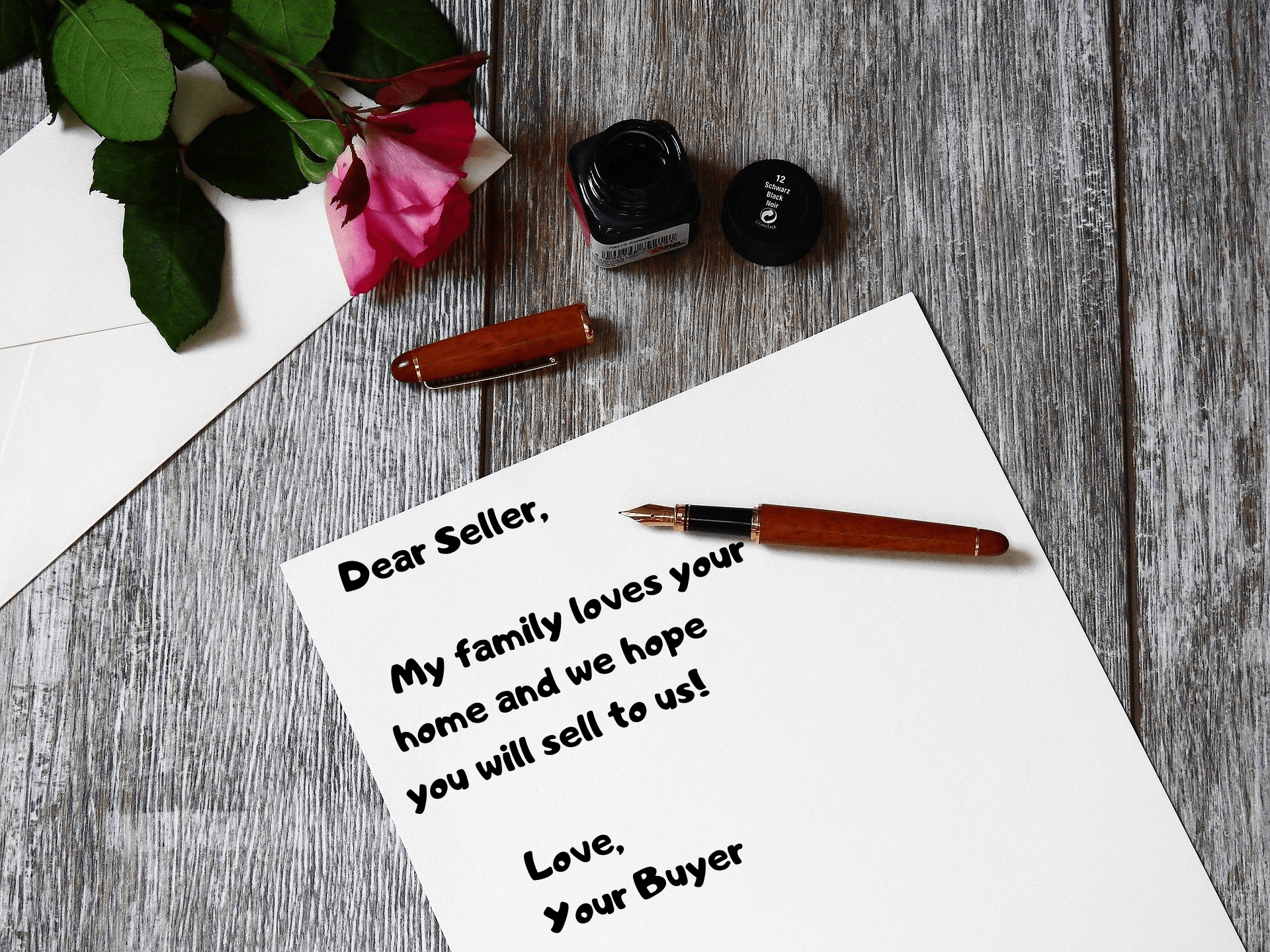 Using a love letter to the seller to make your offer stand out