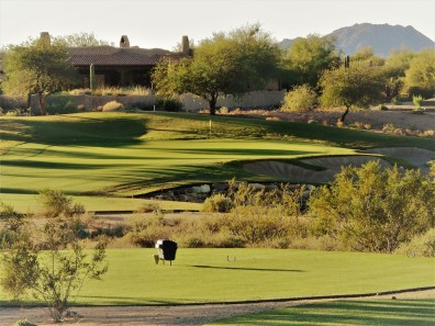 Signature hole on the Ranch course