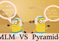 arnaque pyramidale marketing de réseau