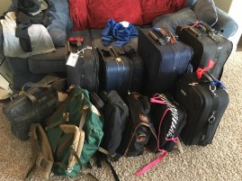 we have everything we need and 2 suitcases full of donations