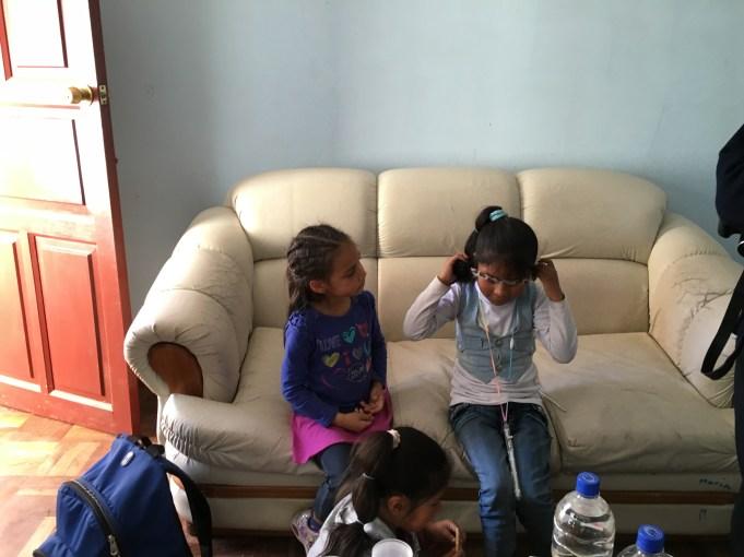 Aliyah y Nicole