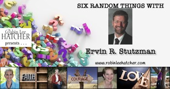 Ervin R Stutzman & 6 Random Things (with a giveaway)