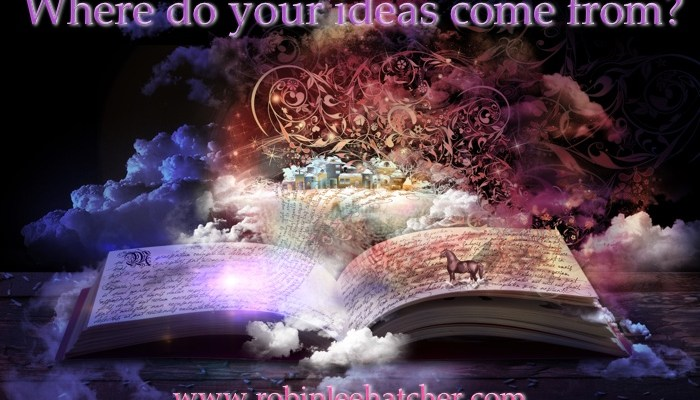 Where do your ideas come from?