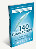 book cover: 140 Characters