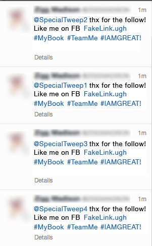 Spam Thanks (4 Mistakes You Can't Afford to Make on Twitter)
