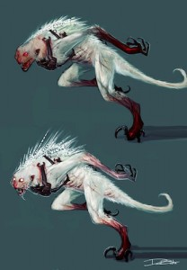 Concept art from DMC: Devil May Cry