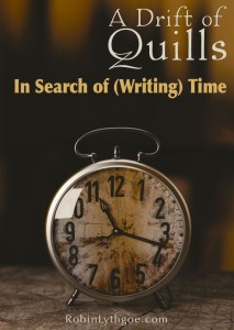 In Search of Writing Time