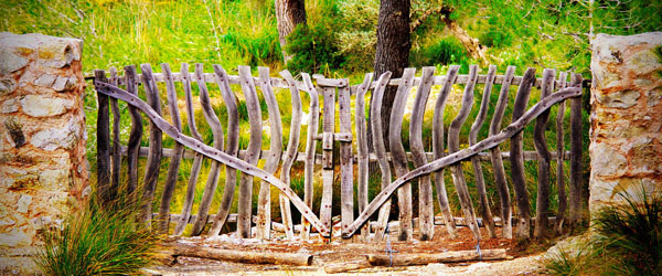 Landscape Elves Garden Gate