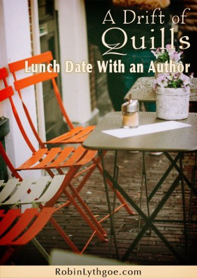 A Drift of Quills Goes on a Lunch Date with an Author