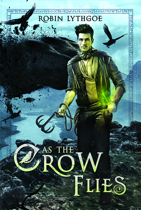 New Cover for As the Crow Flies!