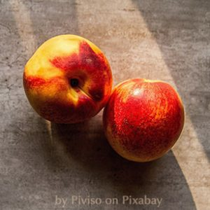 These peaches are named Georgia—Welcome to their slightly surreal story.