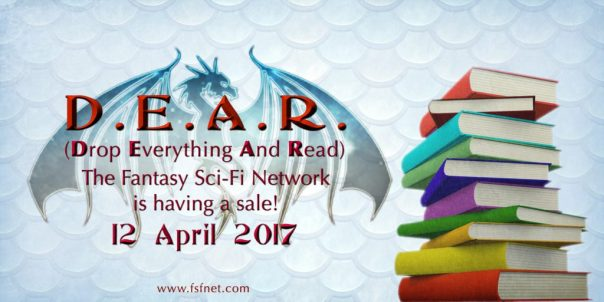 """Drop Everything and Read"" event 12 April 2017, sponsored by the Fantasy and Science-Fiction Network"