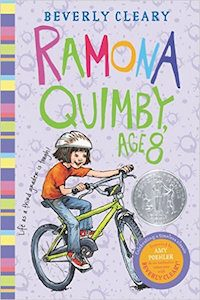 Ramona Quimby, Age 8 - by Beverly Cleary