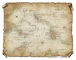 Five Good Things #8: Atabean Sea Map by Maxime Plasse
