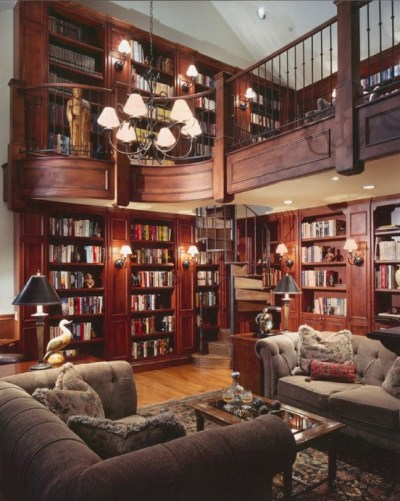 """All the Crannies and All the Nooks!"" Let's pretend for a minute that I'm more than a thousandaire, and I could have the most awesome dream library in the world… [Robin Lythgoe]"
