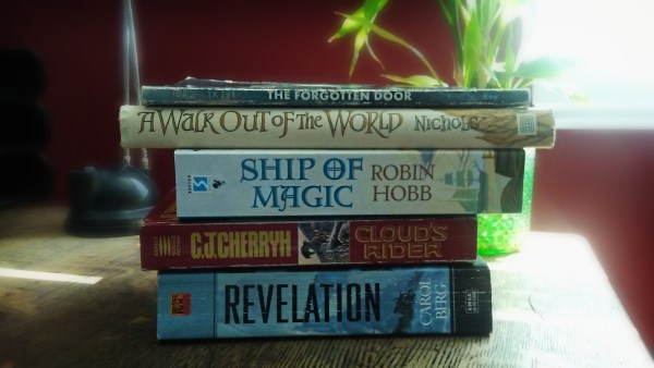 Book Spine Poetry—Easy Magic! Anyone with a collection of books can become an artist…