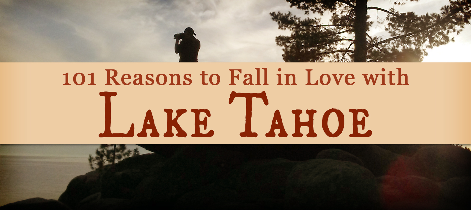 "101 Reasons to Fall in Love with Lake Tahoe: Had a *glorious* week at Lake Tahoe. Such breathtaking scenery! And when I say ""breathtaking,"" I do so with all the words my thesaurus can list in mind: spectacular, awe-inspiring, magnificent, sensational, wondrous, and all the rest."