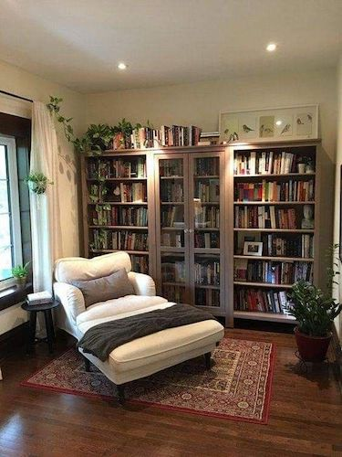 My Book Space wants an overhaul, in a major way. I sit here at my desk, looking at the serviceable build-a-shelf units from the hardware store, and dream… www.robinlythgoe.com