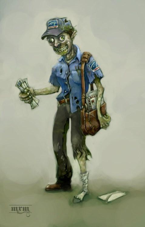 Zombie Postman