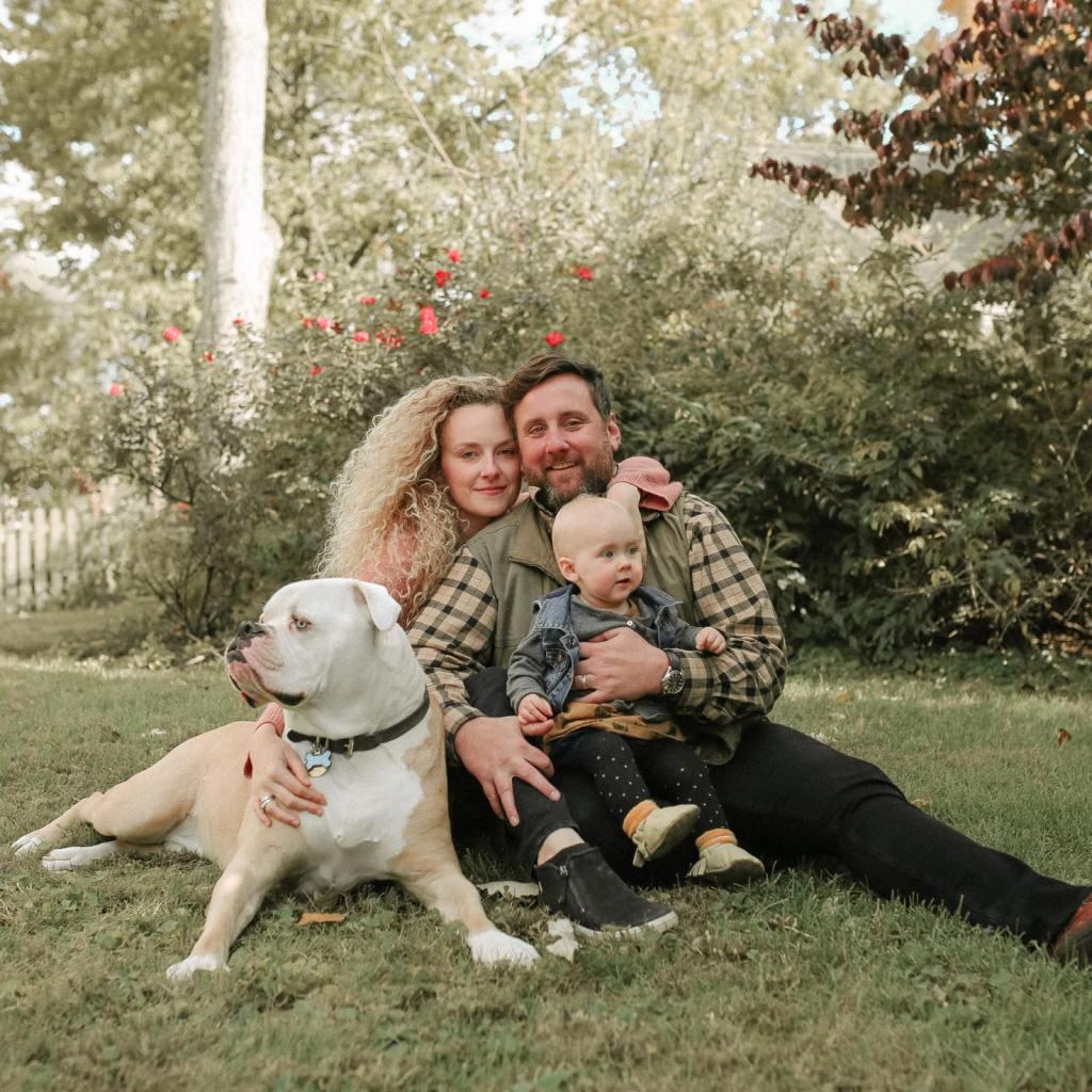 robin mckerrell motherhood family portrait