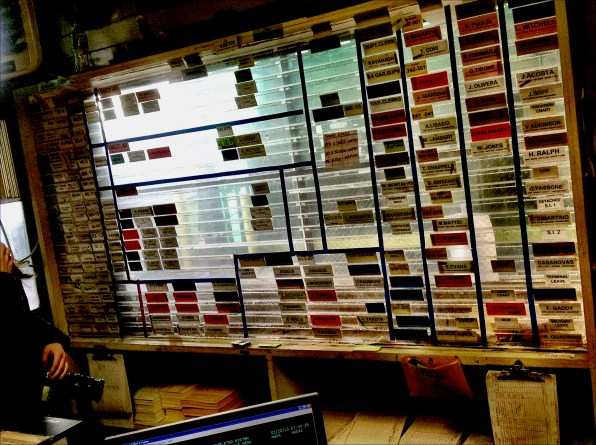 Operations board | Manhattan 2013