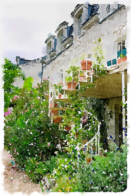 Image from a French Hotel © Robin E. H. Ove All Rights Reserved