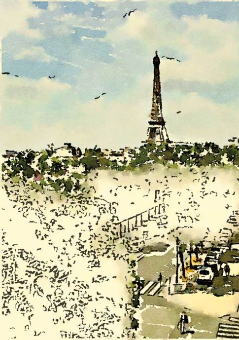 Hotel Duquesne Eiffel © Robin E. H. Ove All Rights Reserved