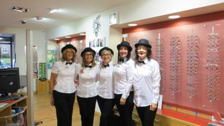 William Morris and Charles Stone Designs at Robinson Optometrists