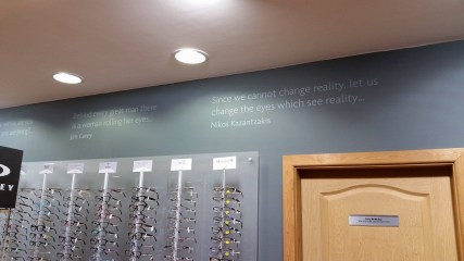 robinson-optometrists-practice-front-wall-quote