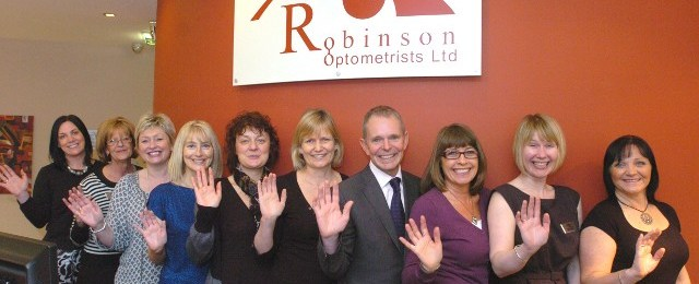 Robinson Optometrists Shortlisted for National Opticians Awards 2011