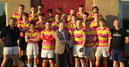 Robinson Optometrists Sponsor Rockliffe's U16 Rugby Team
