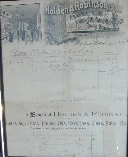 Two invoices from the 1890's