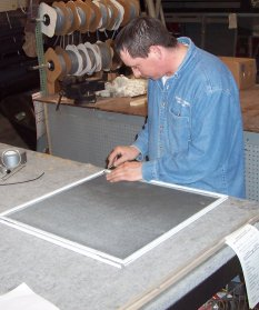 our window screen repair experts are knowledgeable and experienced