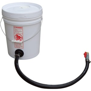 you can make your own pressure washer antifreeze bucket