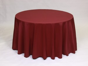 Red tablecloth, linen and napkin rentals in Hudson and Framingham, MA