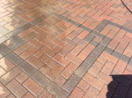 patio driveway cleaning west midlands