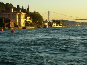 Yalis on the Bosphorus, Istanbul, Turkey