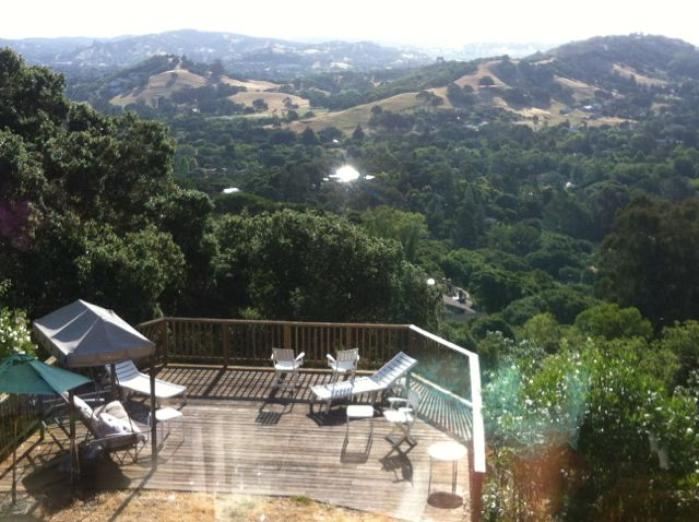 The view from a community home in Novato