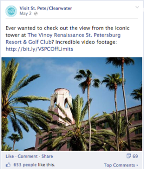 vspc FB video post