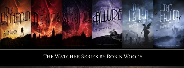 Banner Watcher Series by Robin Woods